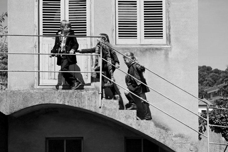 Dziecięca kampania Massimo Dutti - zima 2011