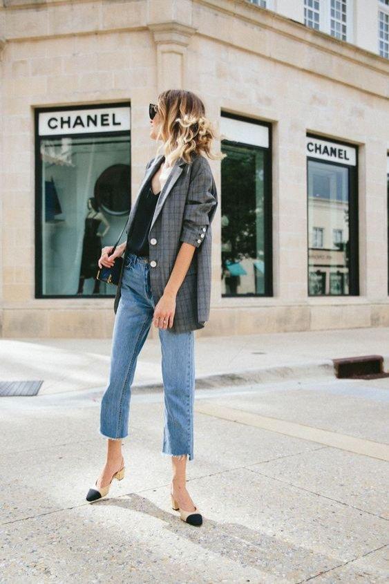Eleganckie buty Chanel