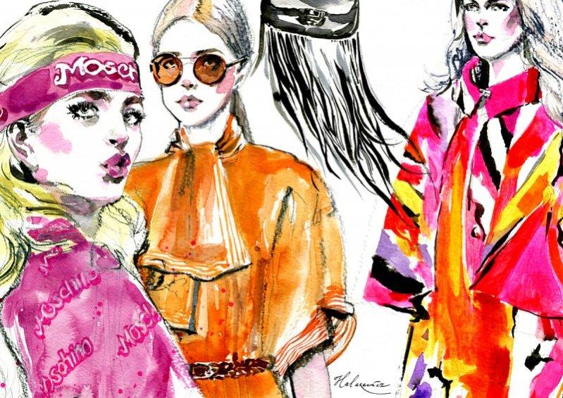 Trendy w modzie damskiej - sezon wiosna lato 2015
