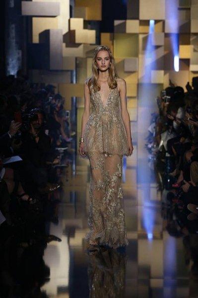 Elie Saab haute couture jesień zima 2015