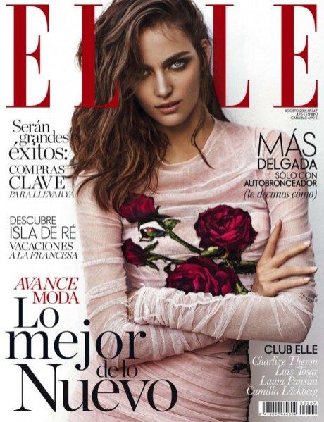 Zuzanna Bijoch w Elle Spain