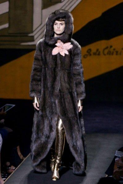 Fendi haute couture jesień zima 2015