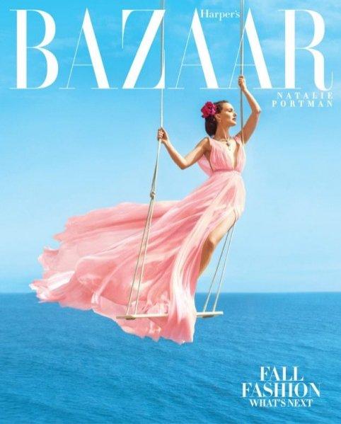 Natalie Portman na okładce Harper`s Bazaar