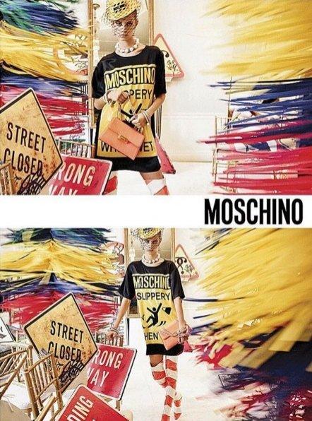 1. Kampania Moschino wiosna lato 2016