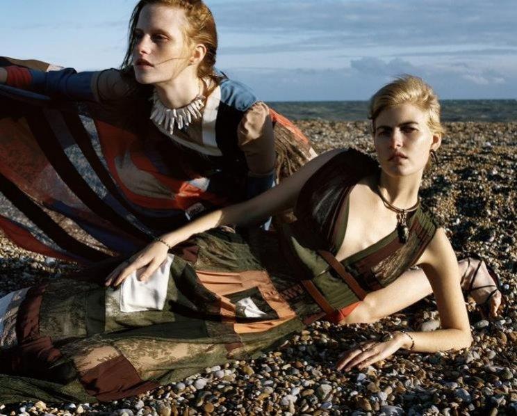 1. Magdalena Jasek i Louis Parker w Vogue Italia