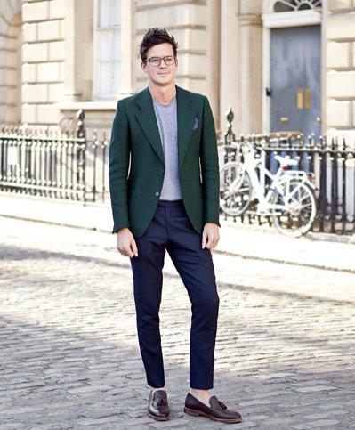Moda uliczna podczas London Fashion Week