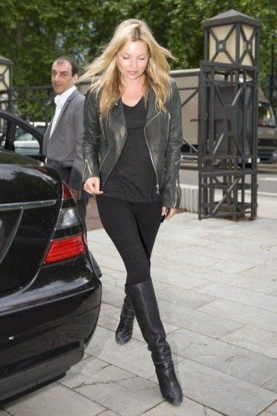 1. Kate Moss - zoom na styl
