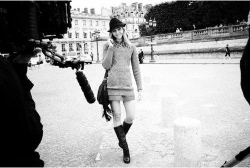 Sasha Pivovarova - twarz kampanii Reserved jesień-zima 2011/12
