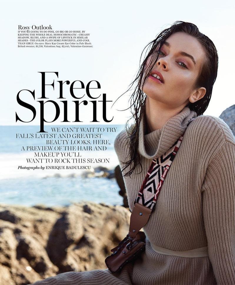 JAC jako Free Spirit w Marie Claire US