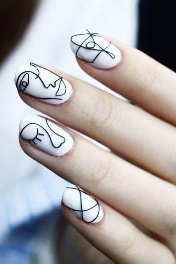 Manicure na jesień - stylowe pomysły (1)