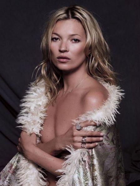 Kampania kolekcji biżuterii Kate Moss dla Fred jesień zima 2011