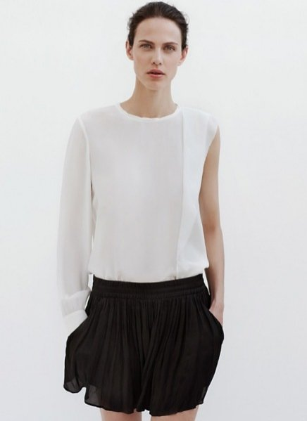 Zara lookbook czerwiec 2012