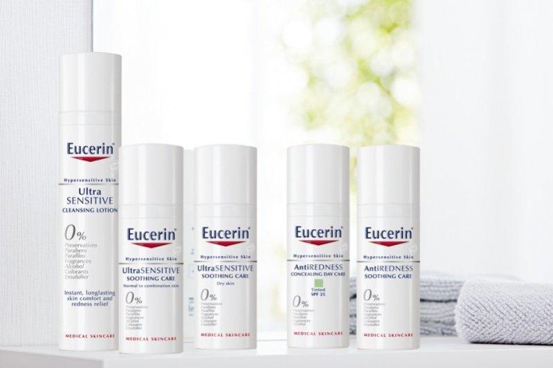 1. Eucerin - nowe linie kosmetyków do twarzy