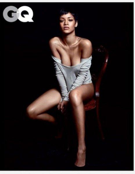 Rihanna w grudniowym wydaniu GQ