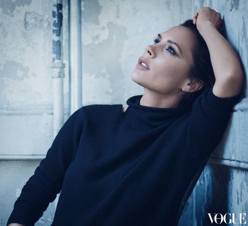 Victoria Beckham w Vogue Australia 2016