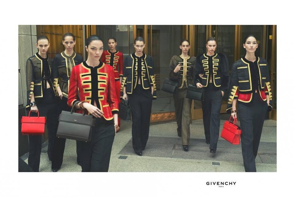 Kampania Givenchy jesień zima 2016 część 1