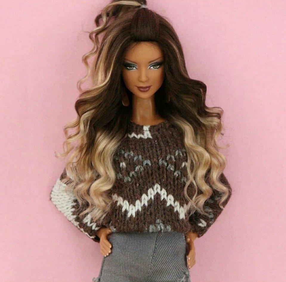 Lalki Barbie - modne fryzury