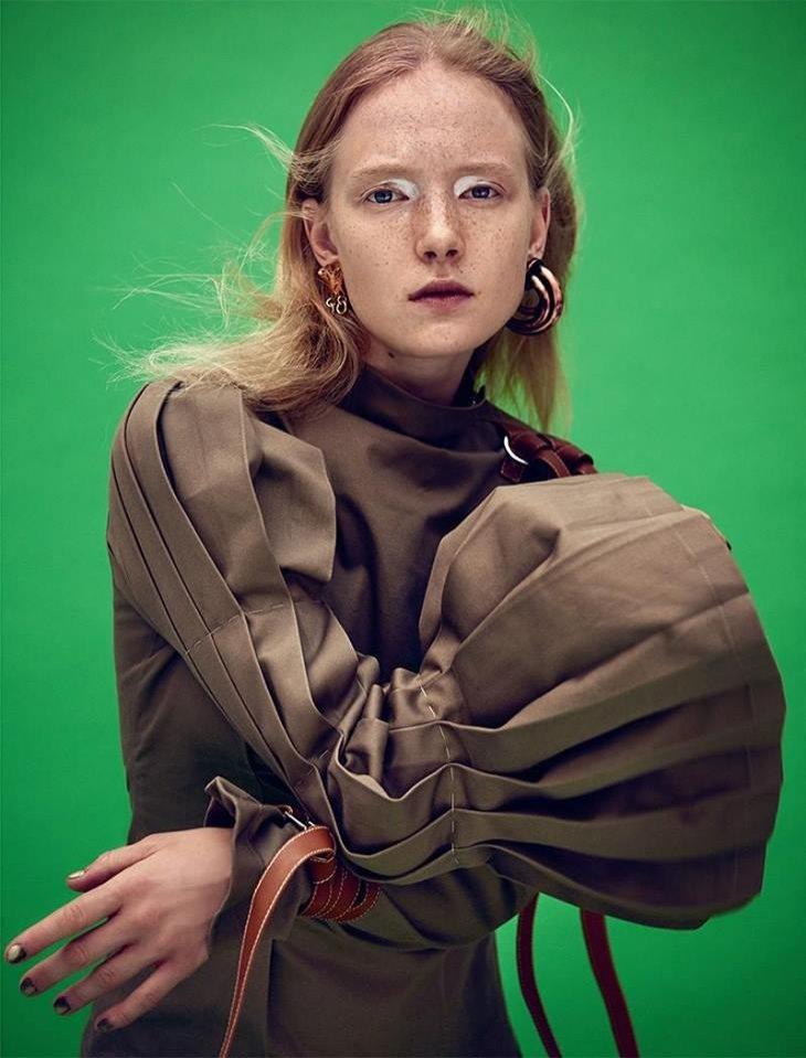 Maja Salamon w sesji dla Dansk Magazine