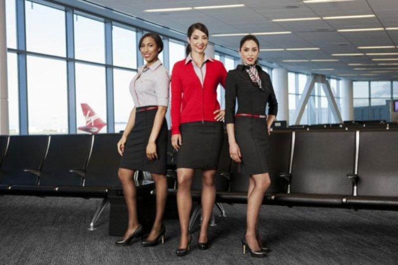 nowe stroje załogi Virgin America