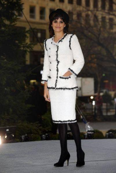 Penelope Cruz w żakiecie Chanel