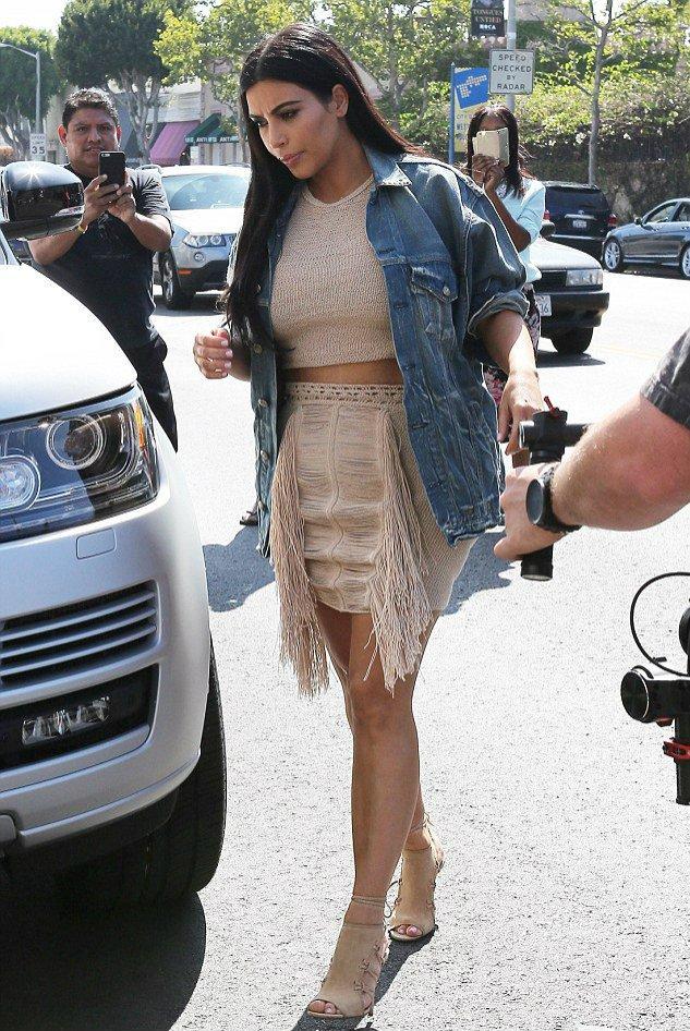 Kim Kardashian w projekcie Magdy Butrym