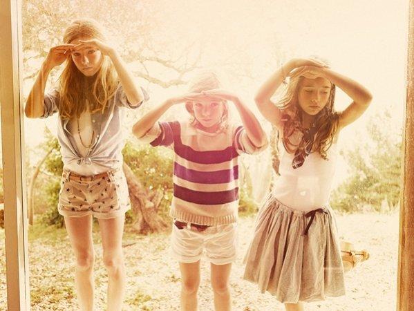 Kolekcja Massimo Dutti na sezon wiosna lato 2012 dla dzieci