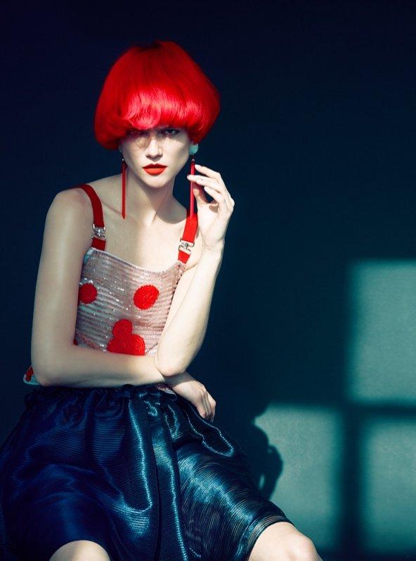 1. Kasia Struss w Harper`s Bazaar UK