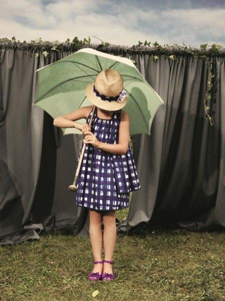 Dziecięca kolekcja Dior wiosna lato 2012