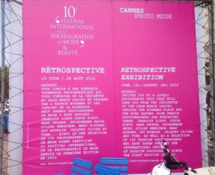 Międzynarodowa wystawa fotografii mody w Cannes