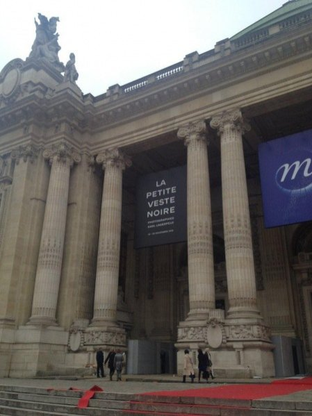Wystawa Little Black Jacket  w Grand Palais