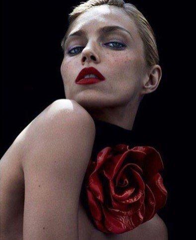 Anja Rubik z D'VISION w sesji dla Vogue Paris