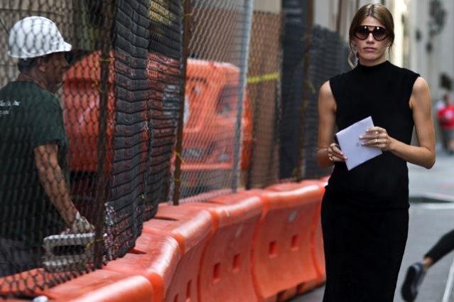 1. Veronika Heilbrunner, Moda uliczna New York Fashion Week wiosna lato 2016