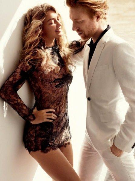 1. Gigi Hadid w Vogue US