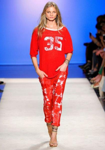 Pokaz kolekcji Isabel Marant wiosna lato 2012