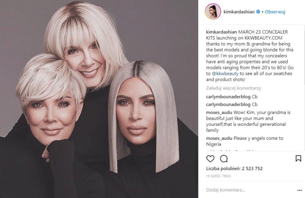 Trendy 2018 w wydaniu Kim Kardashian