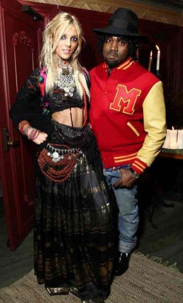 Anja Rubik i Kanye West