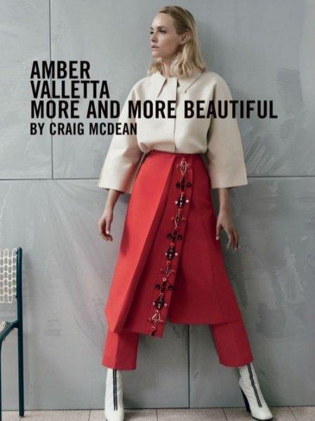 Amber Valletta dla Vogue Italy