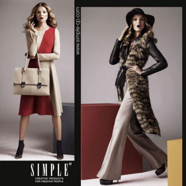 Kampania Simple Creative Products jesień-zima 2011/12/ na zdj. Magdalena Frąckowiak