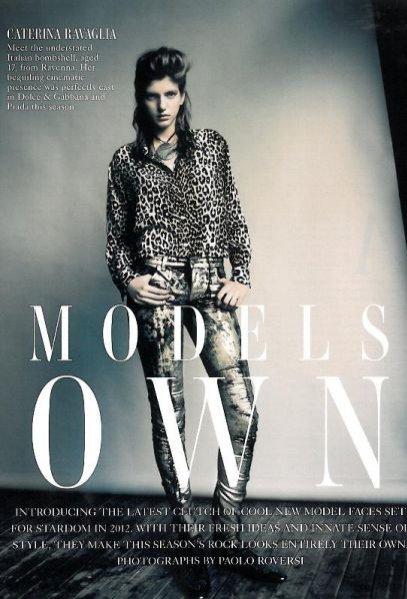 Sesja Models Own w Vogue UK