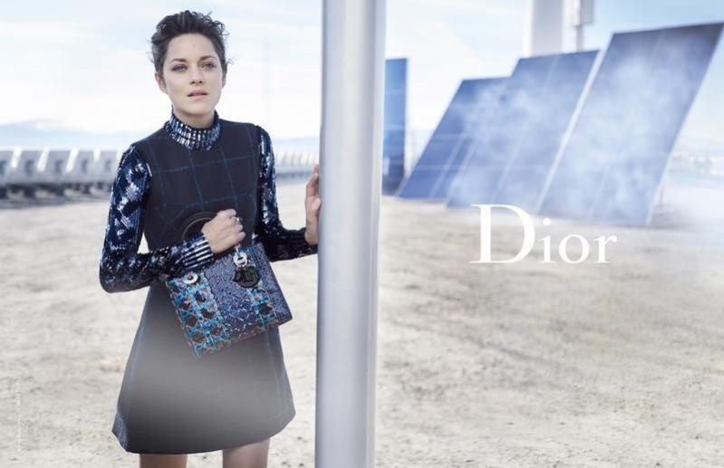 1. Marion Cotillard w kampanii Lady Dior wiosna lato 2015