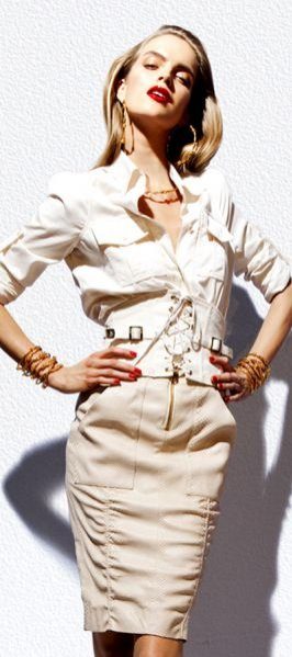 Damska kolekcja Tom Ford wiosna lato 2012
