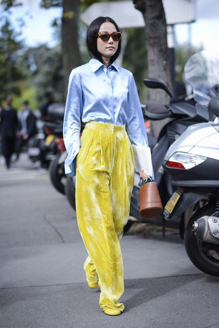 Aksamitne spodnie