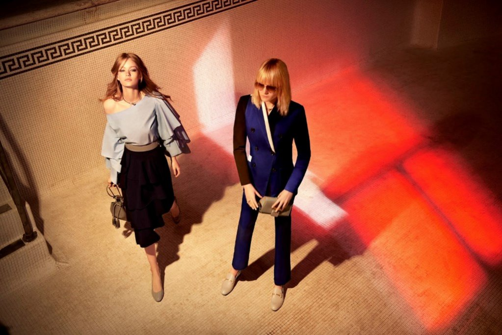 Kampania Charles & Keith - Maja Salamon i Hollie May Saker