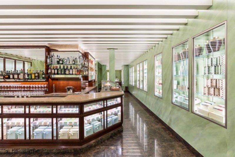 1. Cukiernia Prady w Mediolanie