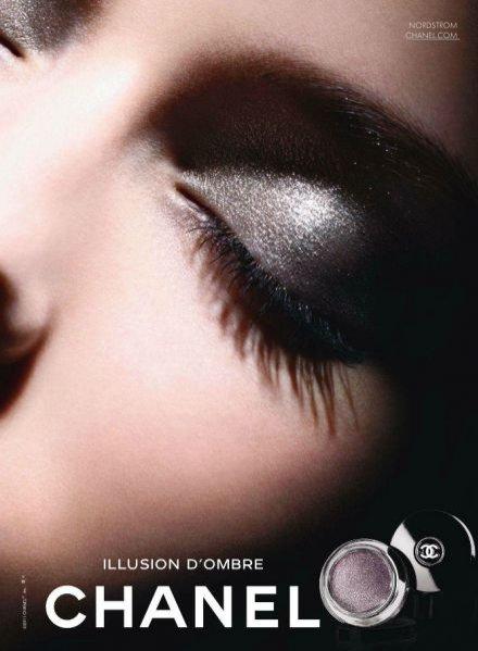 Kampania marki Chanel - jesień 2011 Illusion d'Ombre