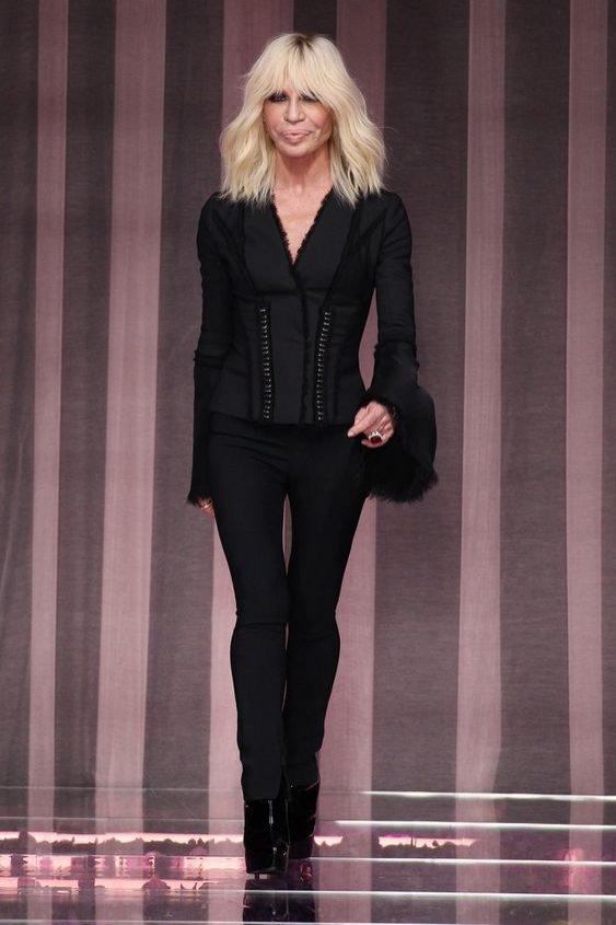 Donatella Versace - kreatorka mody