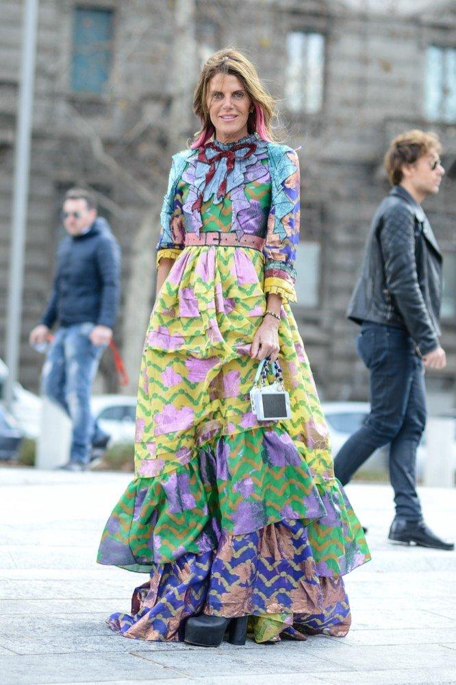 1. Długie Sukienki - Anna Dello Russo