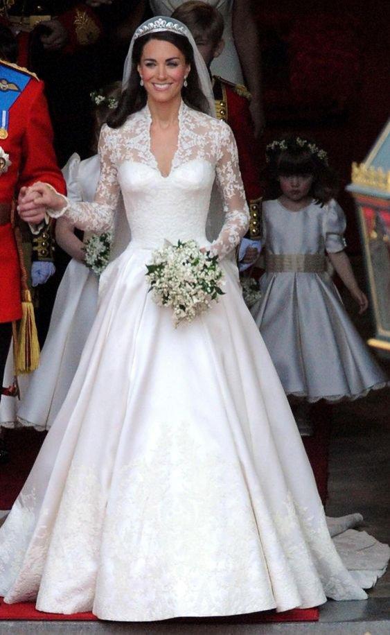 Kate Middleton: suknia ślubna