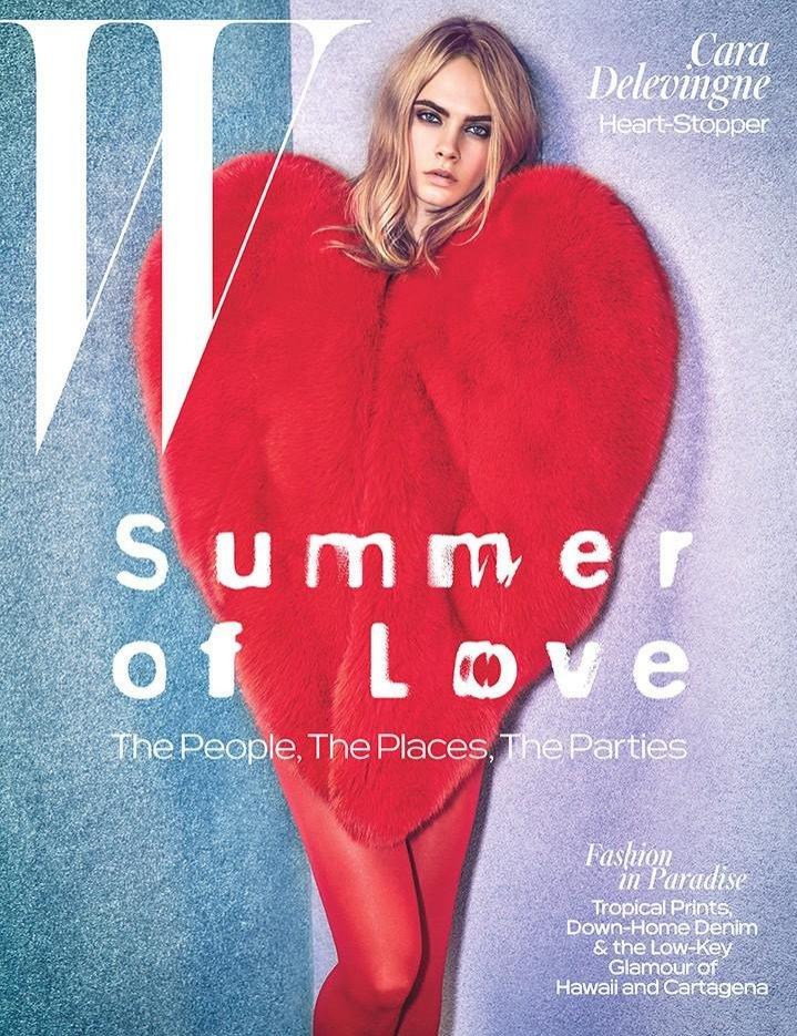 Cara Delevingne na okładce W Magazine