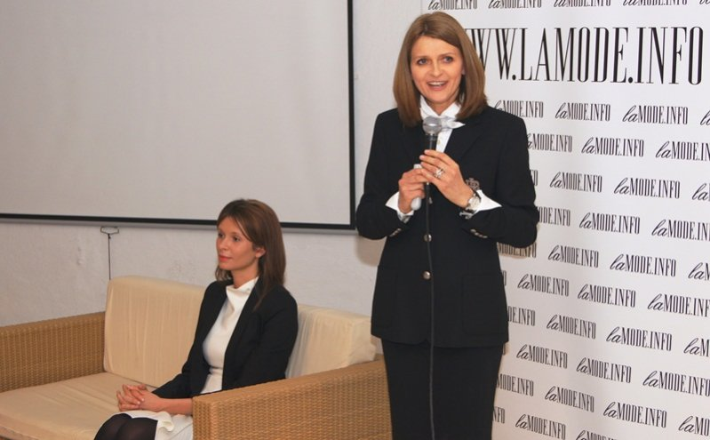 Na zdj. Karolina Kucharska, dr Irena Kamińska-Radomska